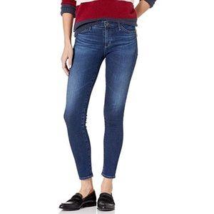 AG Moonlit Middi Ankle Mid Rise Skinny Jean
